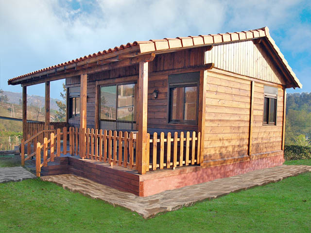 Casas de madera baratas - Casas de madera en arboles ...