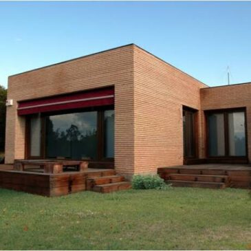 Construcción de casas cubo